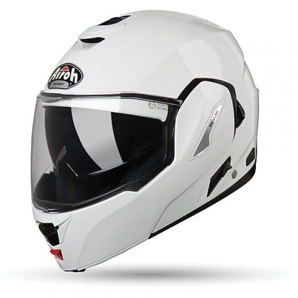 casco modulare airoh rev 19 bianco lucido
