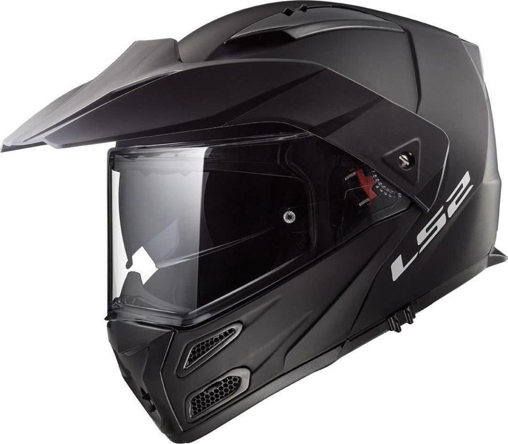 casco modulare ls2 ff324 metro evo solid nero