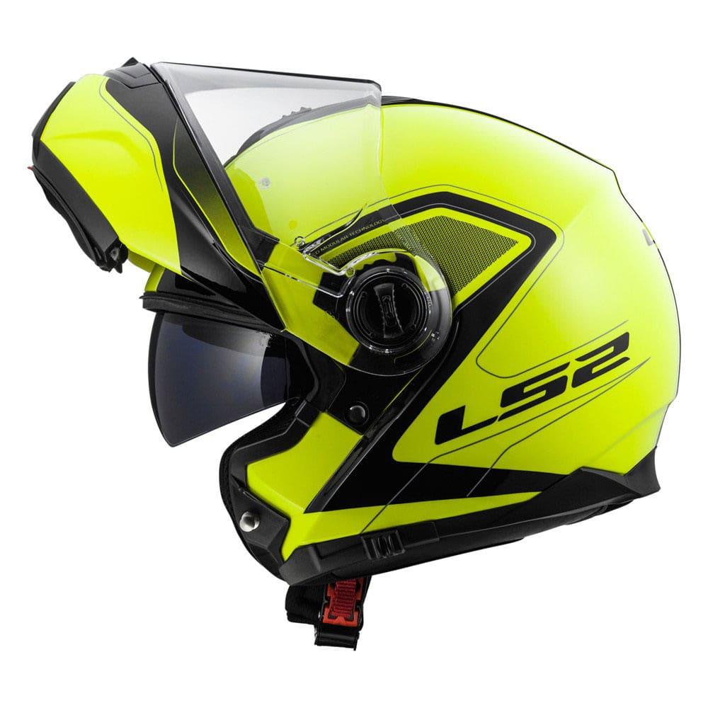 casco modulare ls2 ff325 con bluetooth