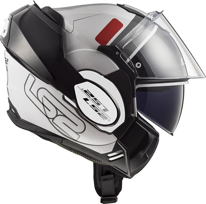 casco modulare ls2 ff399 doppia omologazione