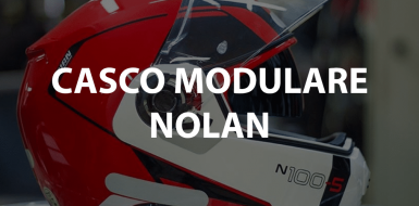 casco modulare nolan con interfono bluetooth per moto