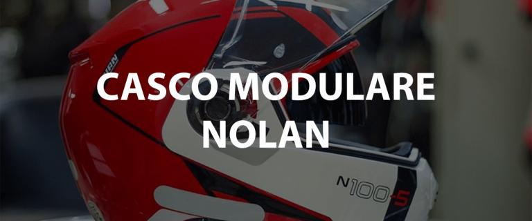 casco modulare nolan con interfono bluetooth per moto