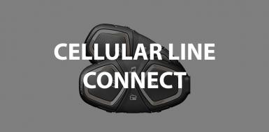 interfono cellular line connect bluetooth per moto