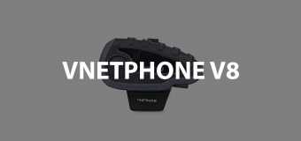 interfono vnetphone v8 bluetooth per moto