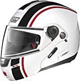 nolan n91 evo strip n-com casco integrale per moto