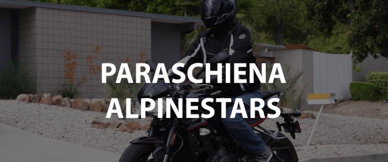 paraschiena alpinestars livello 2 moto