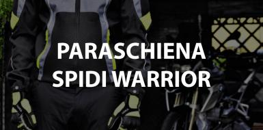 paraschiena spidi warrior l2 per moto