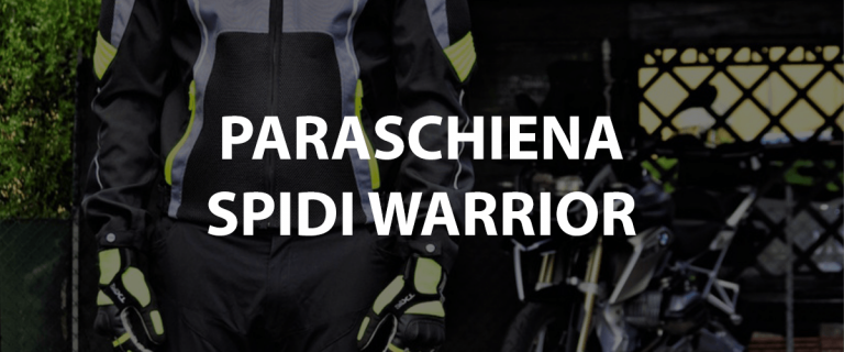 paraschiena spidi warrior l2 per moto