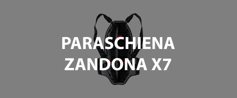 paraschiena zandona x7 Shark Spine Shield Evo e Esatech Back Pro