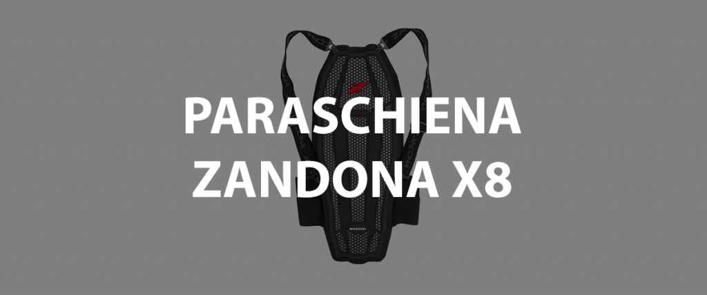 paraschiena zandona x8 per moto