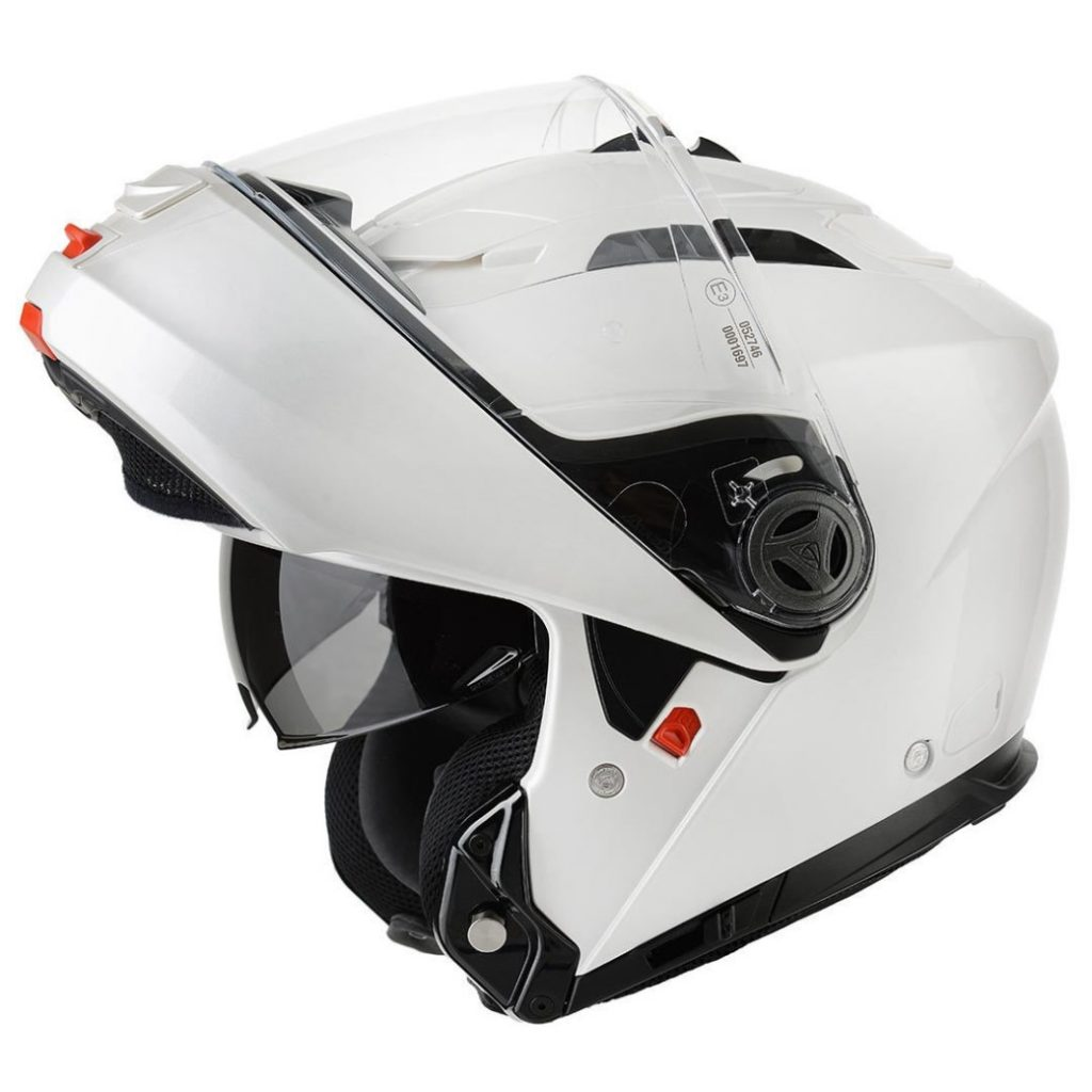 casco airoh rides white gloss
