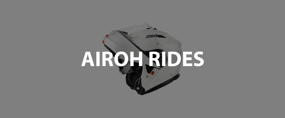 casco airoh rides