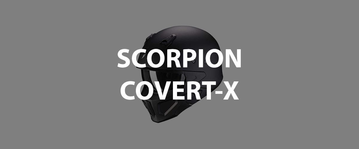 casco scorpion covert-x