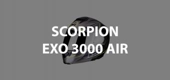 casco modulare scorpion exo 3000 air header