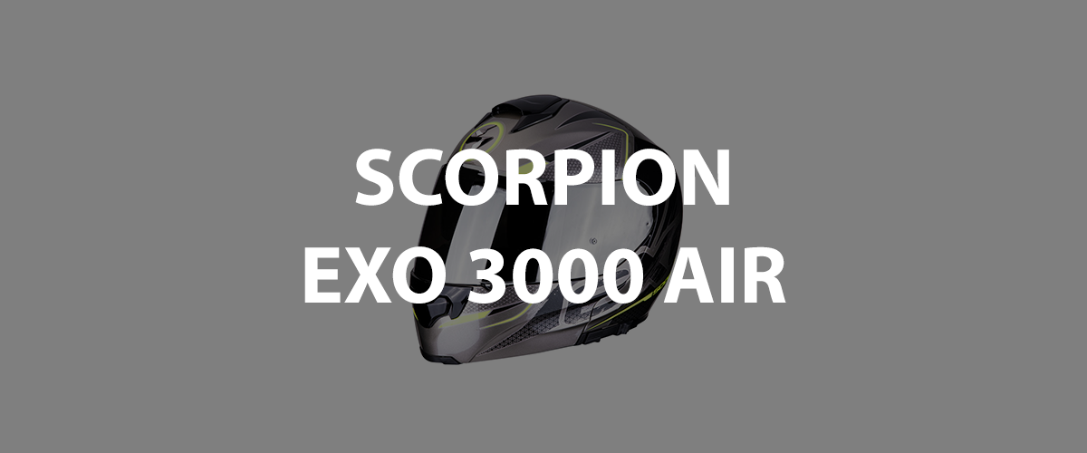 casco scorpion exo 3000 air