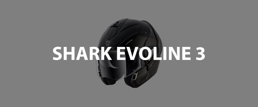 casco modulare shark evoline 3 header