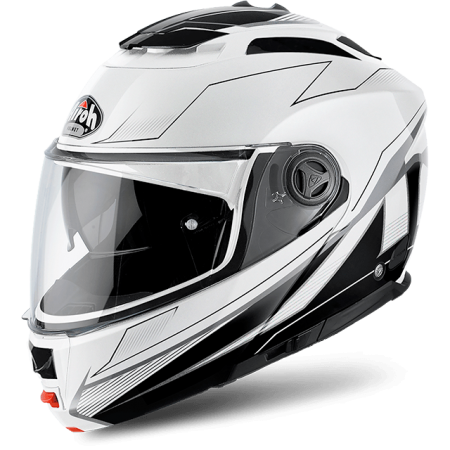 casco per moto airoh phantom s bianco