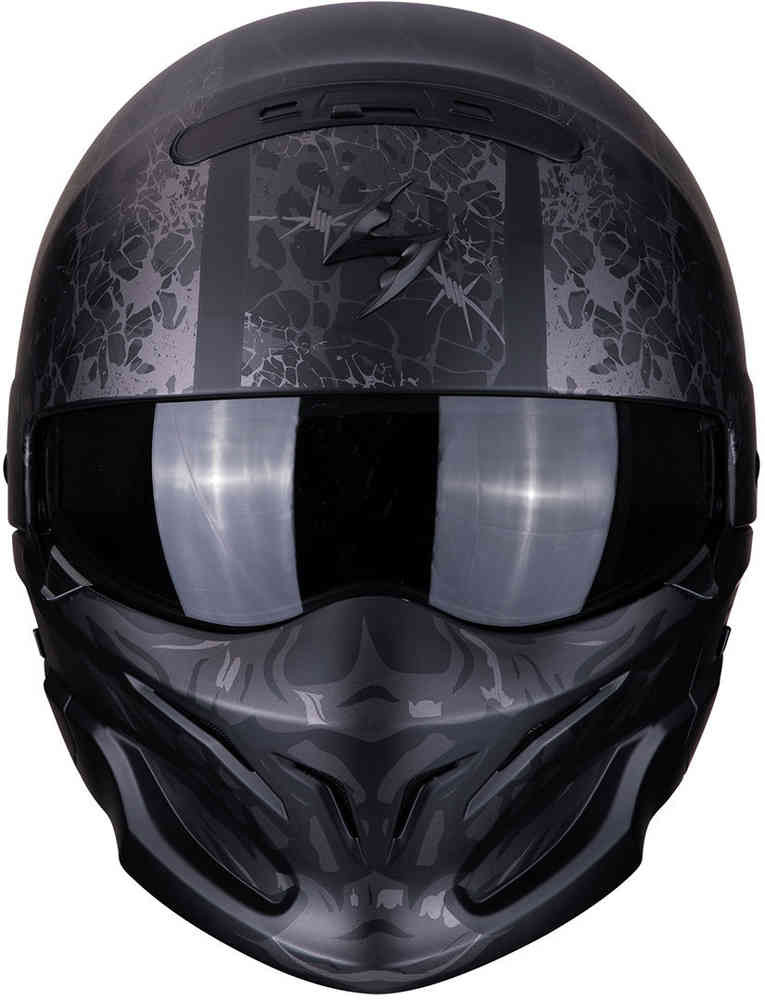 casco scorpion exo combat stealth nero