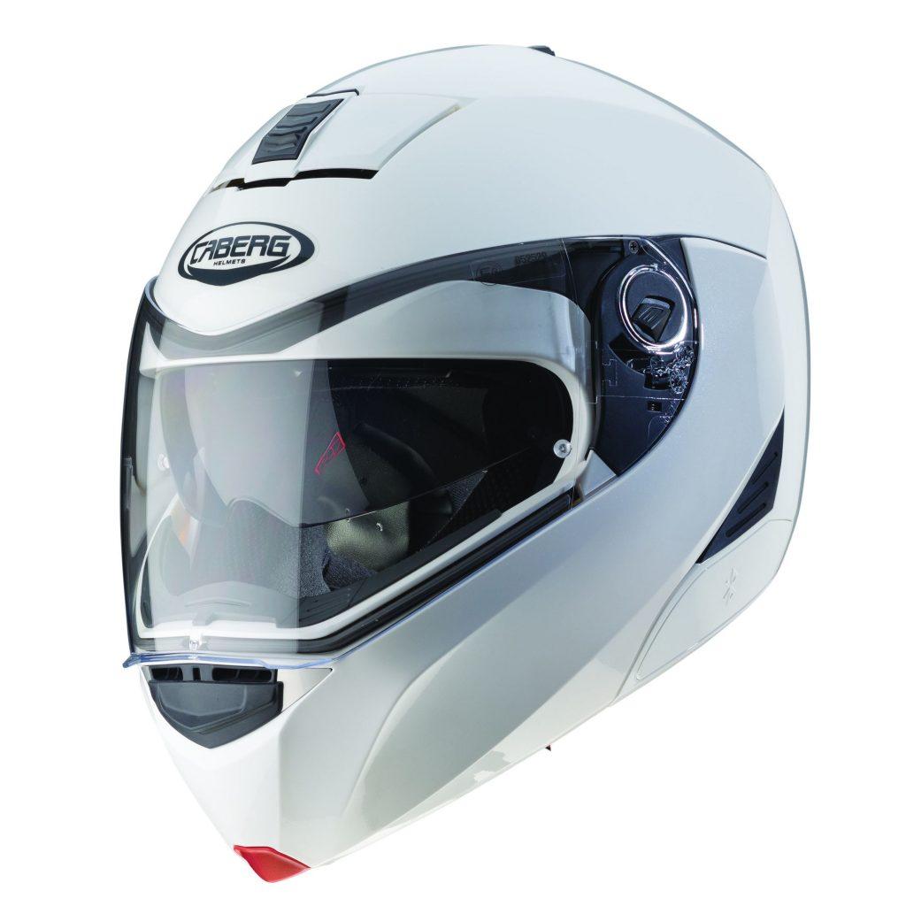 casco caberg modus metal white bianco