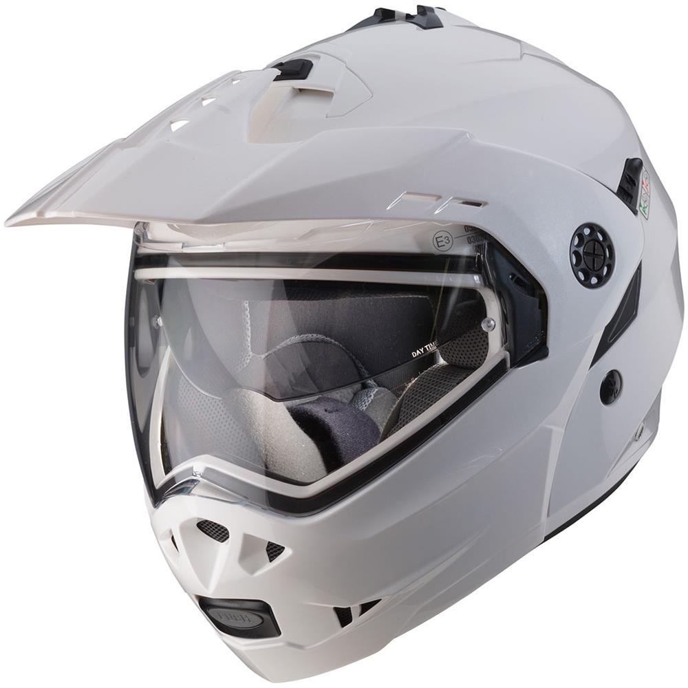 casco caberg tourmax bianco