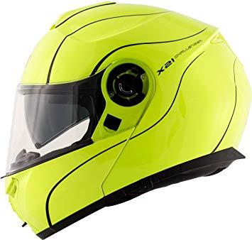 casco givi x21 challenger giallo fluo