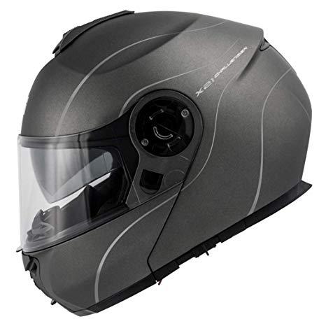 casco givi x21 challenger titanio opaco