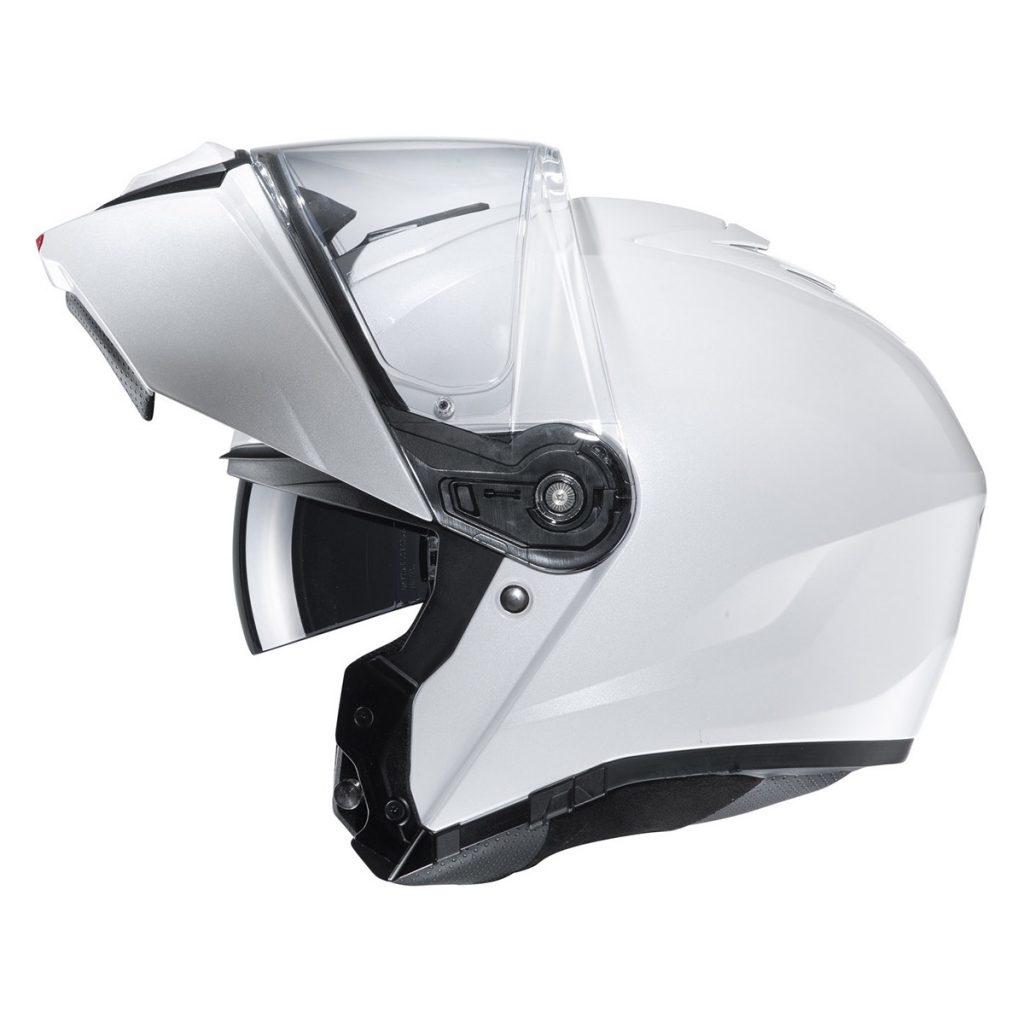 casco hjc i90 bianco con mentoniera ribaltabile