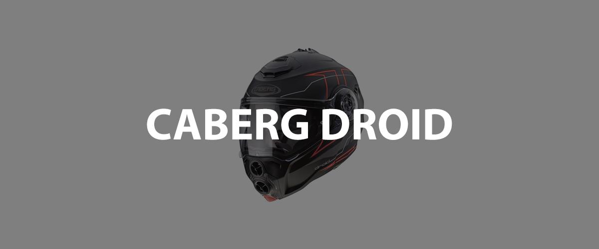 casco caberg droid