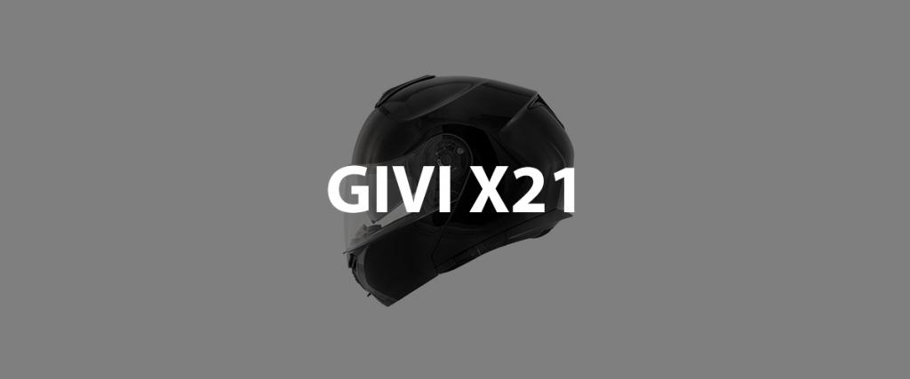 casco modulare givi x21 header