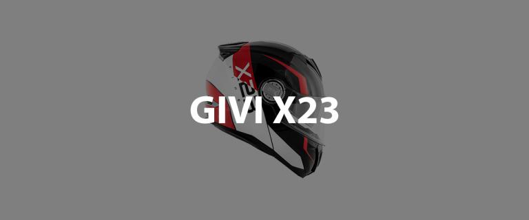 casco modulare givi x23 header
