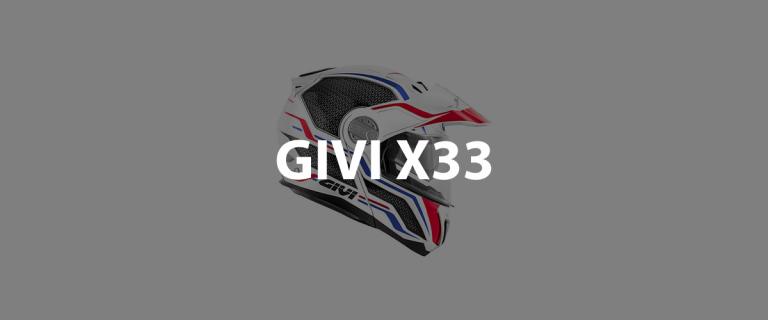 casco modulare givi x33 header