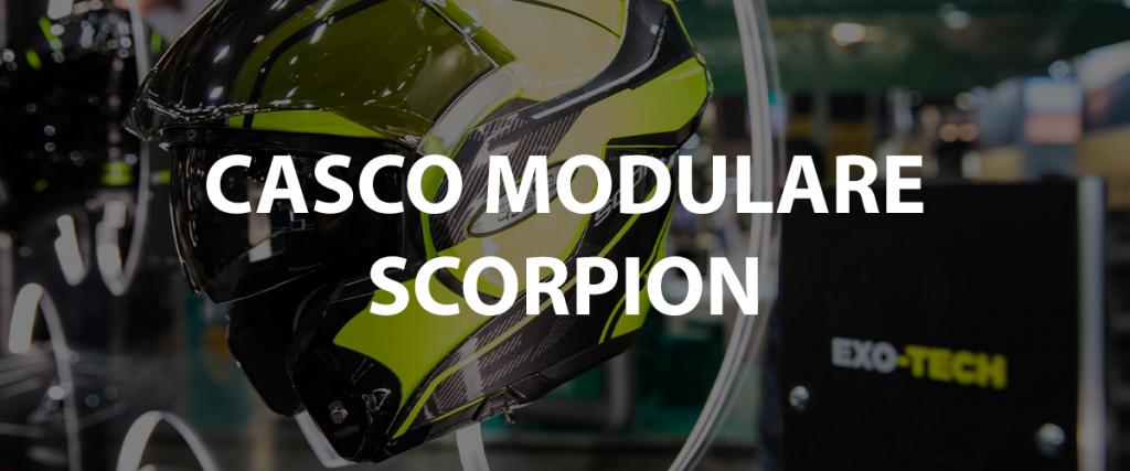 casco modulare scorpion hader
