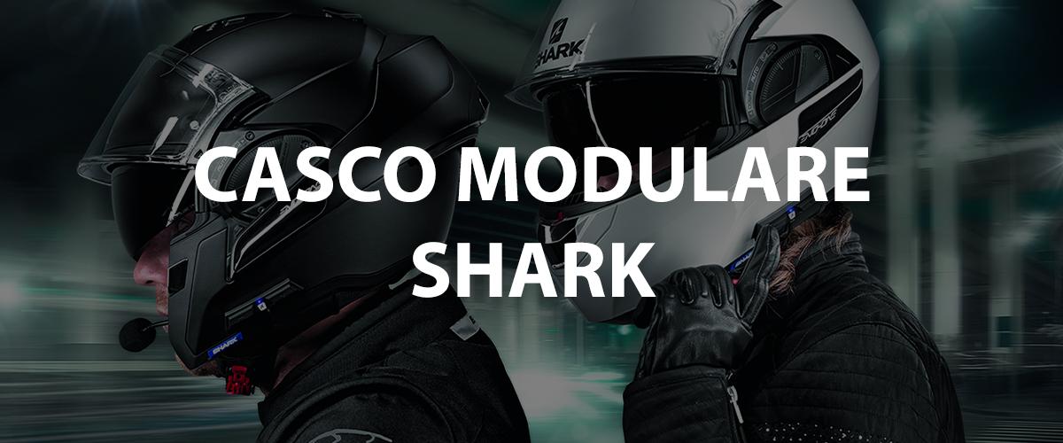 casco modulare shark