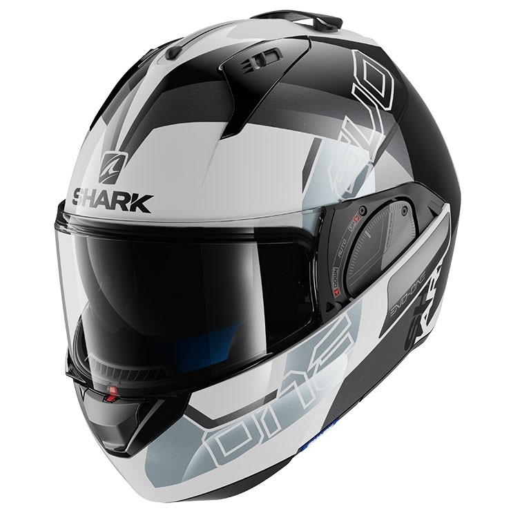 casco shark evo-one 2 slasher bianco