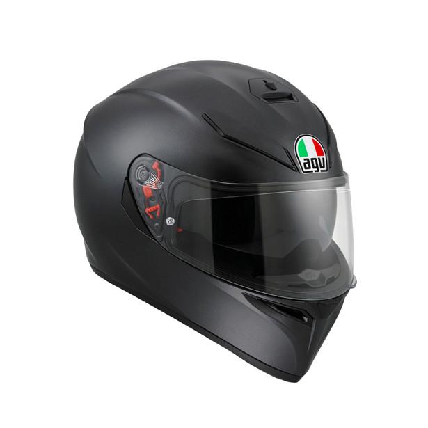 agv k3 mono matt black nero opaco