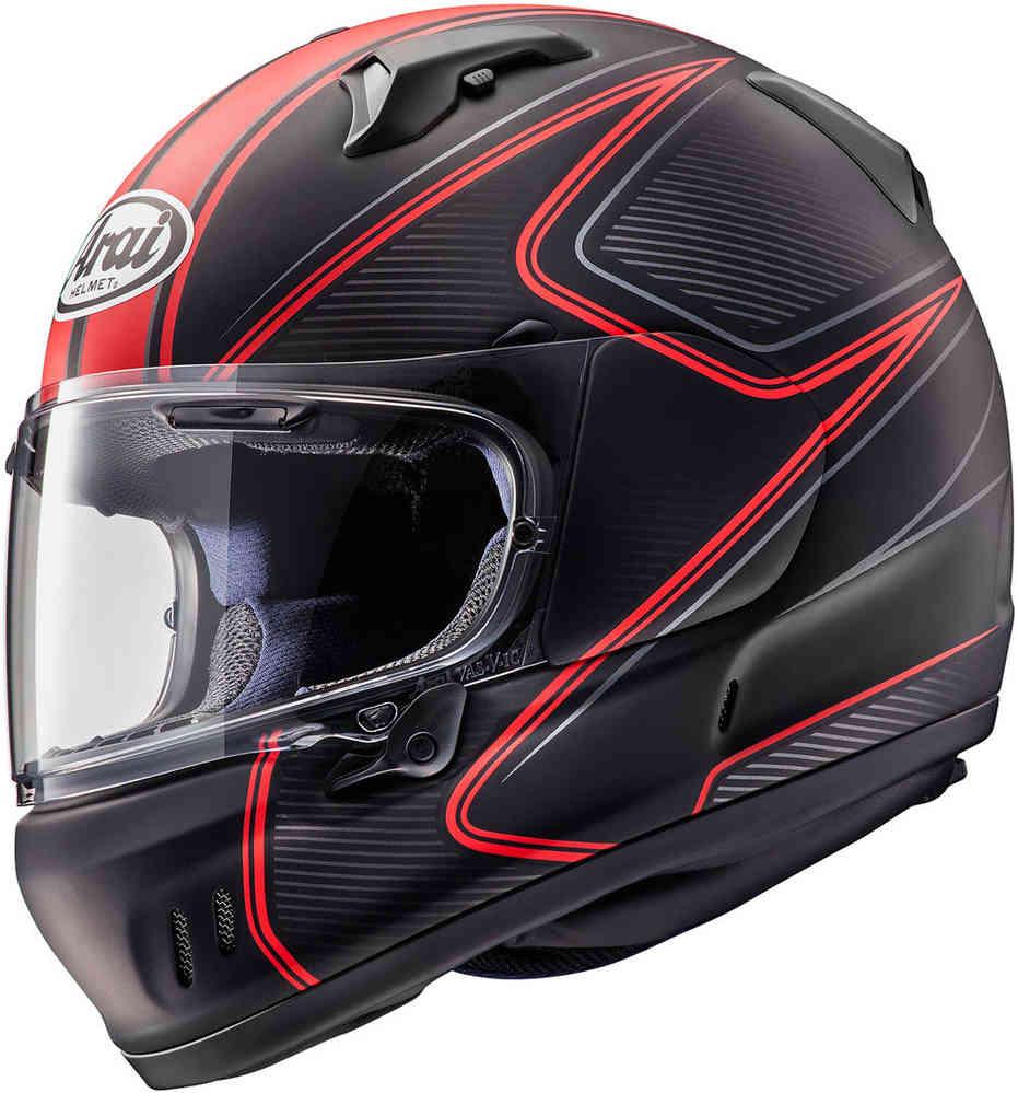 arai renegade-v diablo rosso nero casco integrale