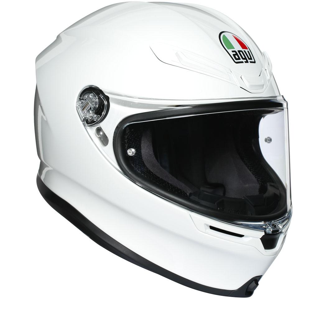 casco agv k6 bianco per moto