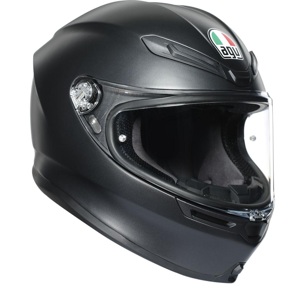 casco agv k6 nero opaco integrale