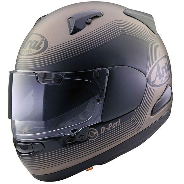 casco arai qv-pro shade grigio nero