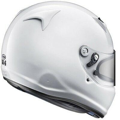 casco arai sk-6 bianco retro omologato