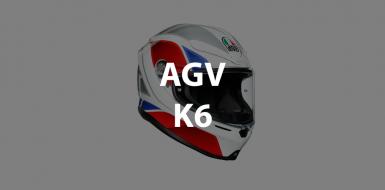 casco integrale agv k6 header