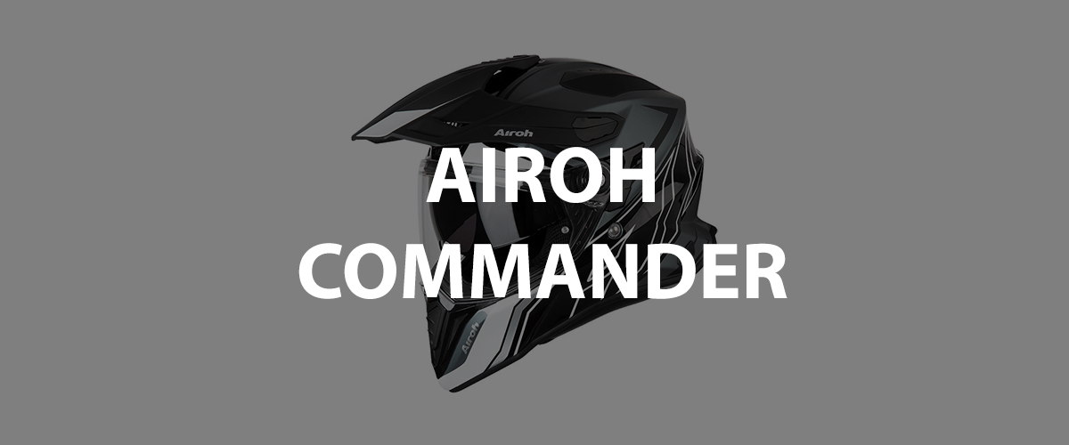casco airoh commander
