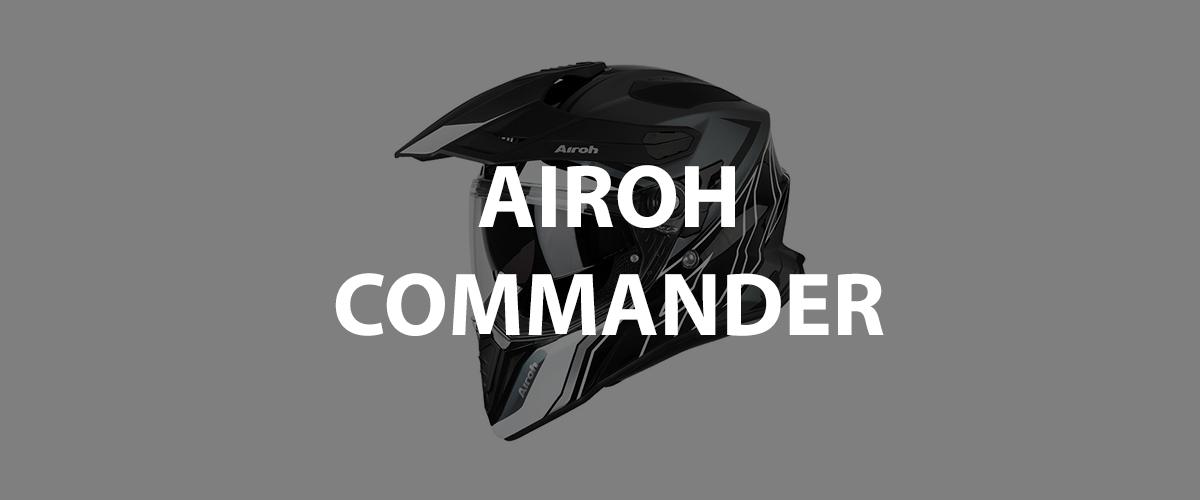 casco airoh commander