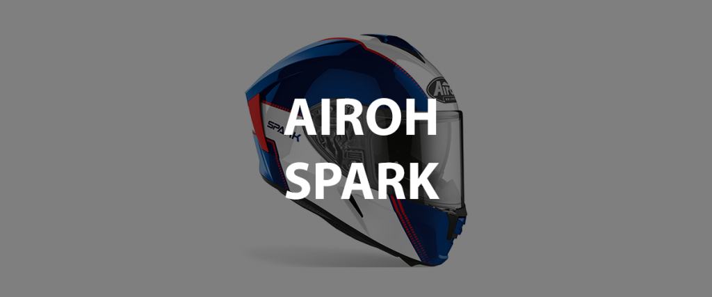 casco integrale airoh spark header