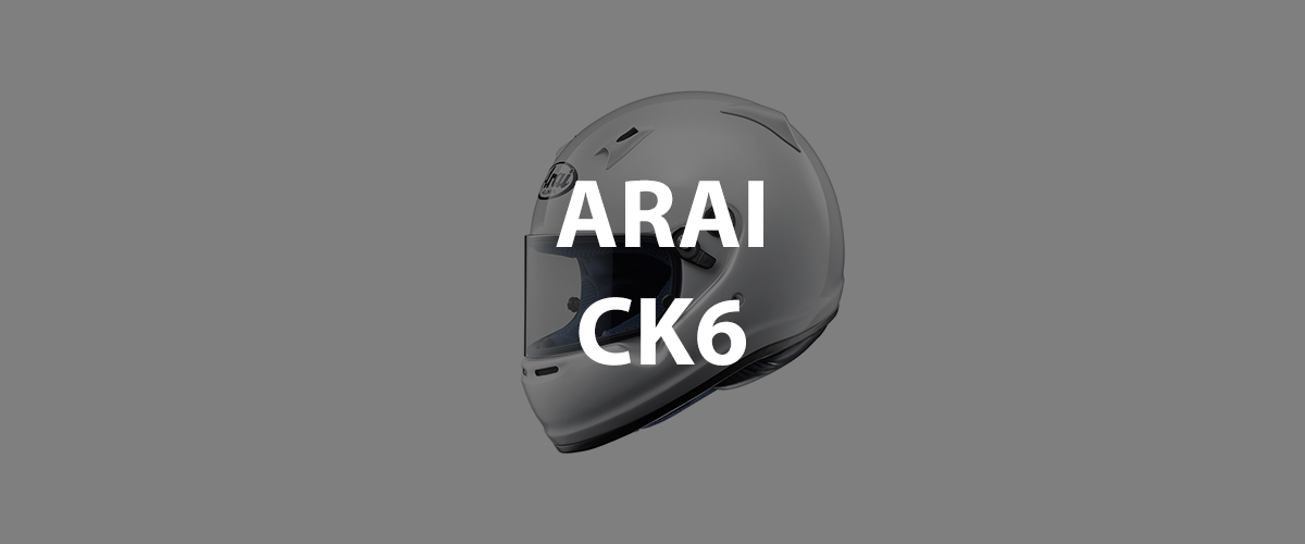 casco arai ck6