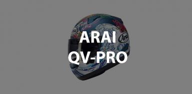 casco integrale arai qv-pro header