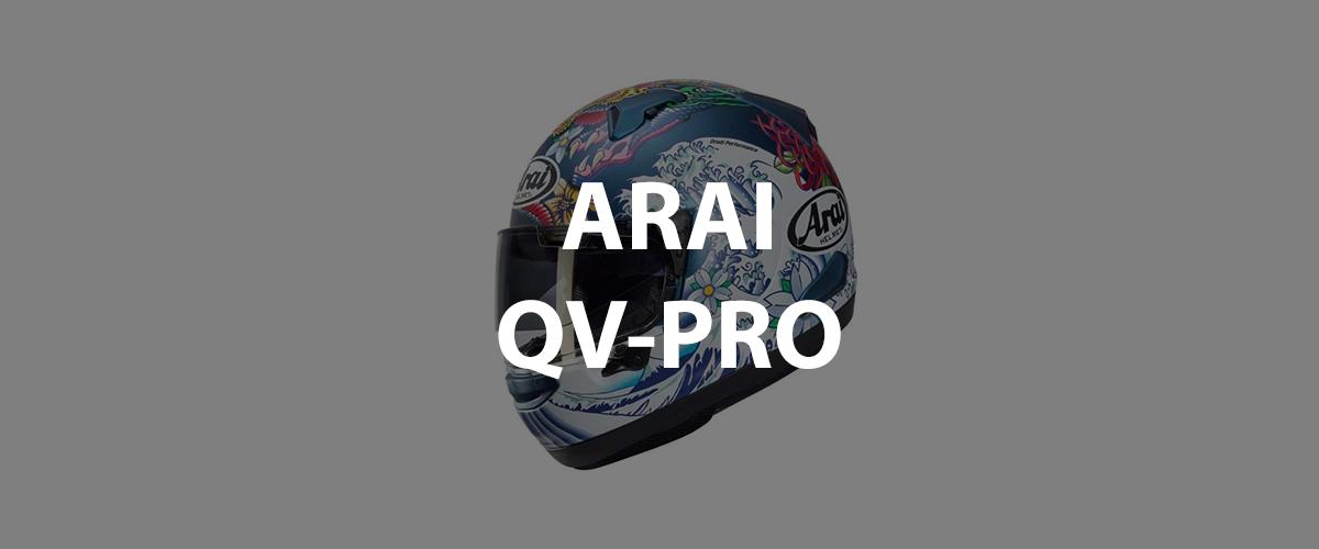casco arai qv-pro