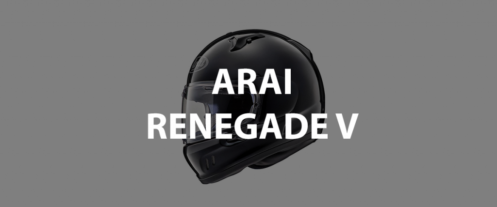 casco integrale arai renegade v header
