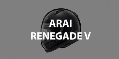 casco integrale arai renegade v header