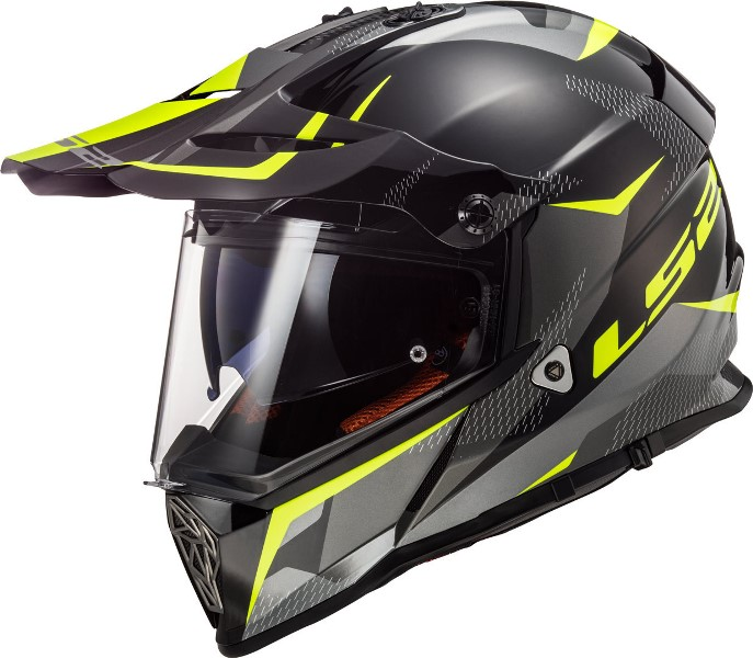 casco integrale enduro ls2 mx436